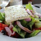 Salata verde cu branza Feta