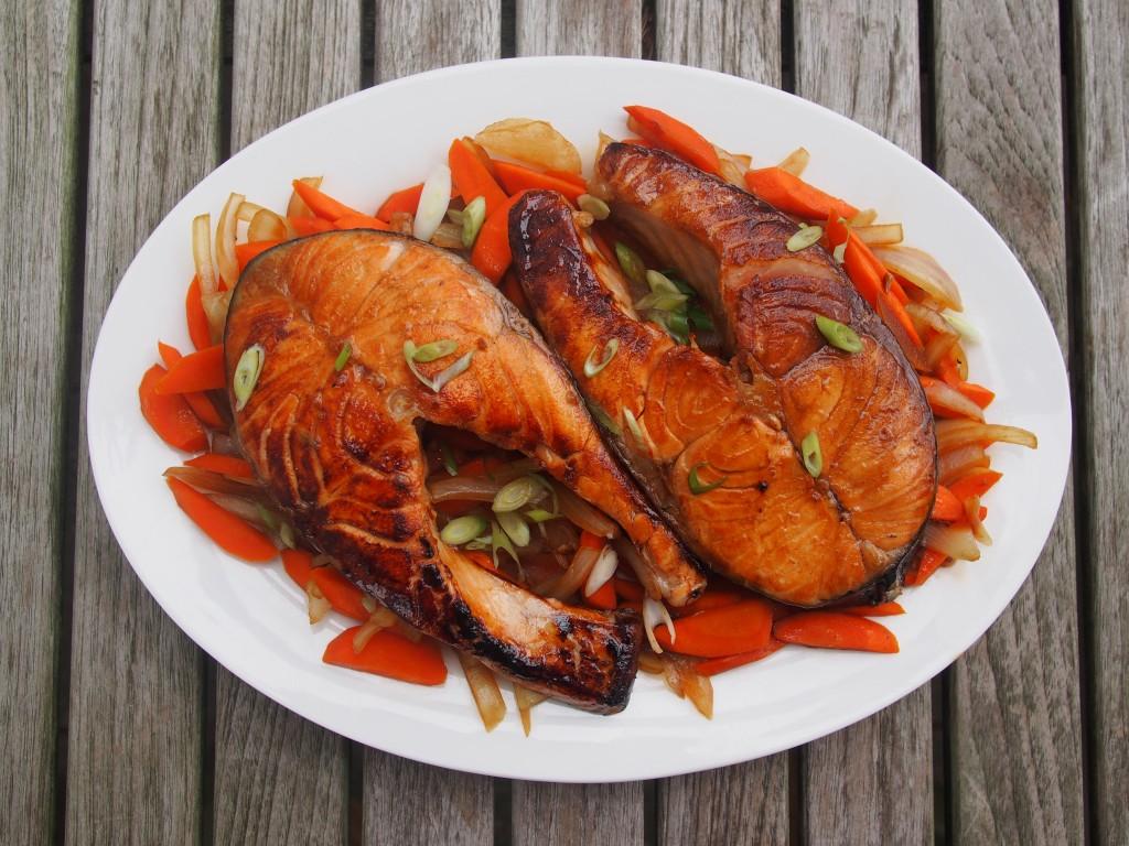 Peste cu morcovi si ceapa