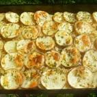 Cartofi cu masline la cuptor