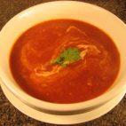 Supa crema de morcovi si rosii, fara fierbere