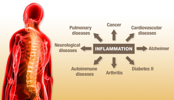 Inflamatiile din corpul uman