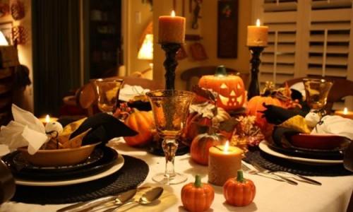 menu de halloween