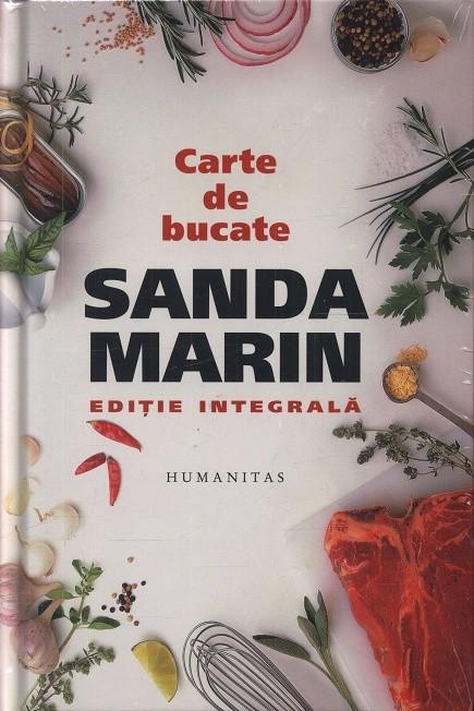 Carte de bucate Sanda Marin.