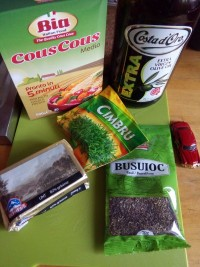 Ingrediente pentru couscous