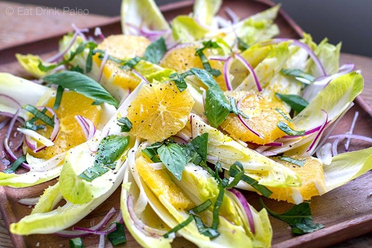 Salata cu andive si portocale
