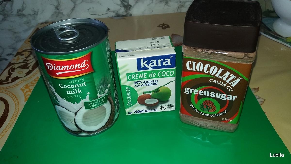 Inghetata vegana cu ciocolata