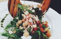 Salata de toamna cu dovleac si rodie