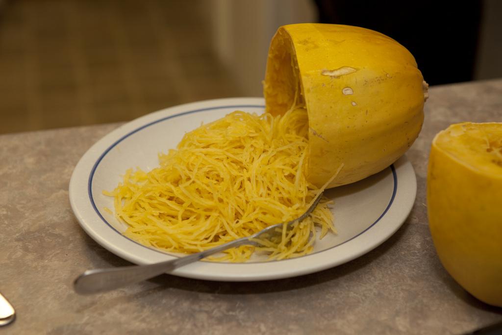 Dovleac spaghetti. Sursa foto.