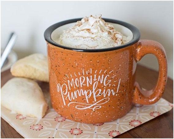 Cafea cu mousse de dovleac