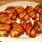 Piept de pui cu bacon la cuptor