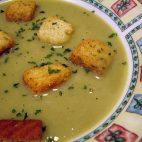 Supa crema din radacina de patrunjel