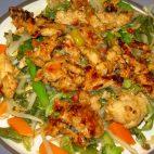 Piept de pui cu amestec de legume chinezesc