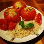 Rosii umplute cu orez si seminte