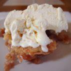 Tort de mere cu nuci (fara blat)