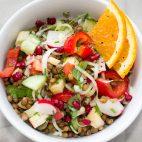 Salate hrănitoare de post – 11 retete