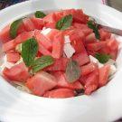Salata de pepene rosu cu Feta