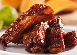 Coaste de porc cu miere