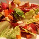 Salata de andive, telina si morcovi