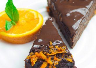 Prajitura de portocale cu ciocolata