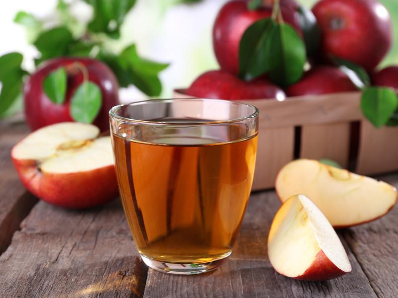 Suc de mere pentru detoxifiere