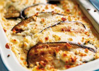 Musaca cu carne vinete si cartofi