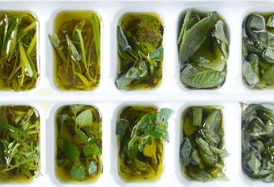 Conservare verdeturi in ulei de masline