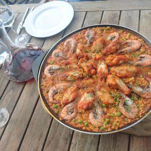 Paella la -wok