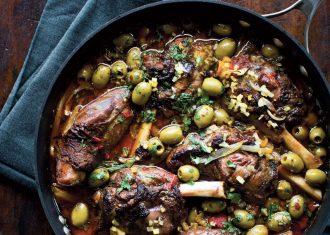 Mancare marocana cu miel si masline