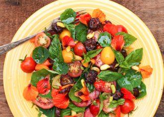 Salata de nasturel cu rosii