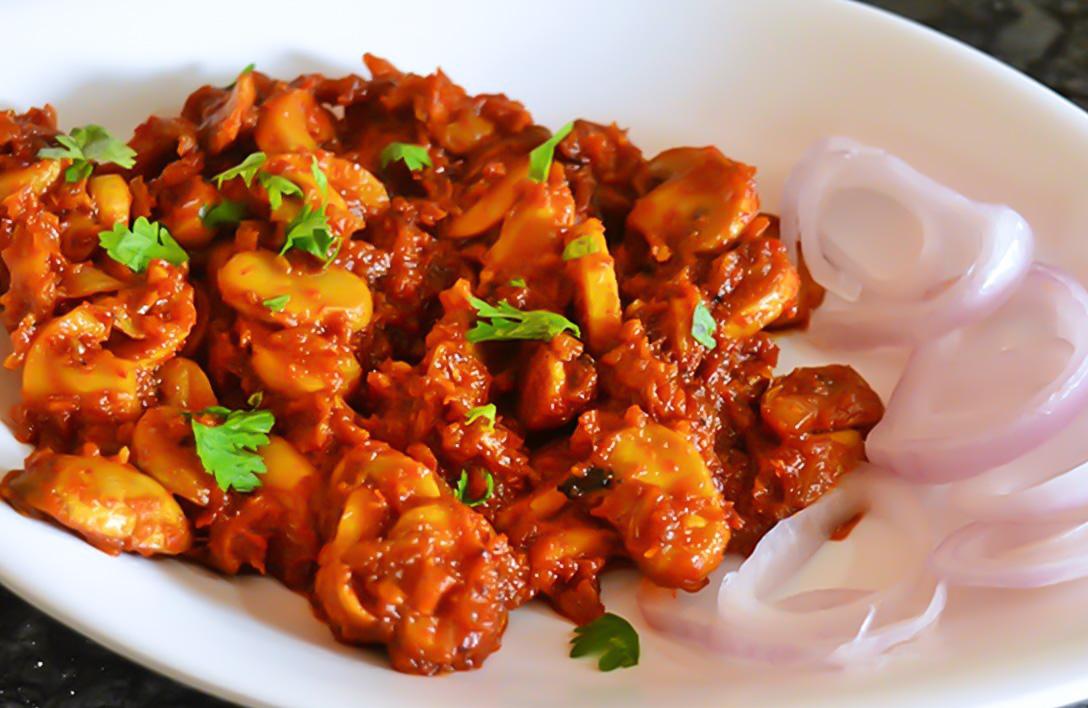 Ciulama de ciuperci cu paprika