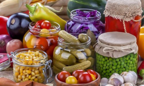 Conservare legume