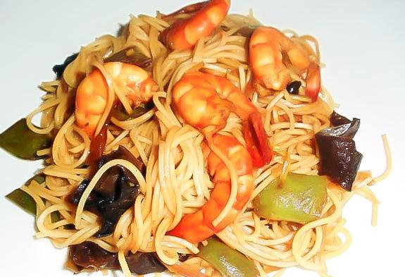 Taietei-chinezesti-cu-creveti si ciuperci negre