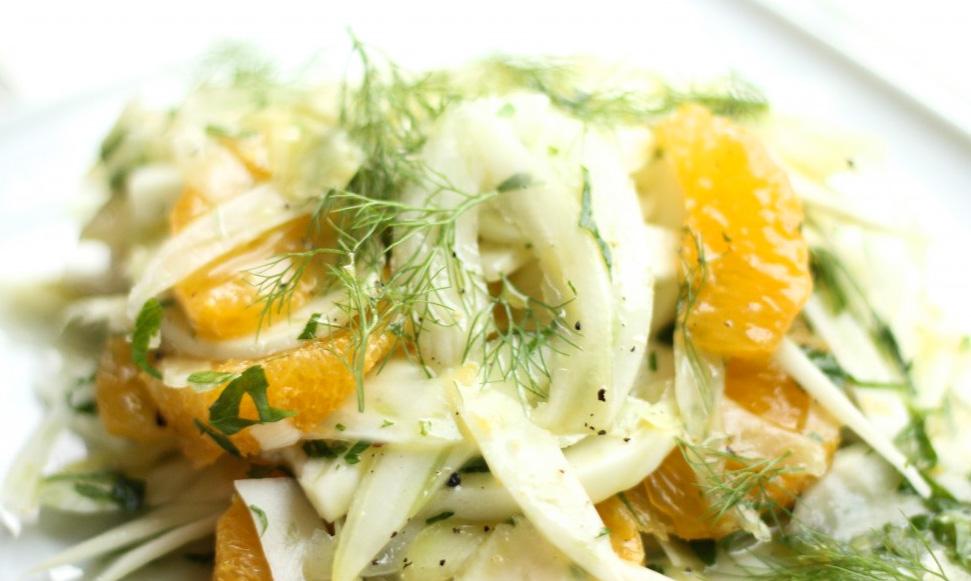 Salata de fenicul si portocala