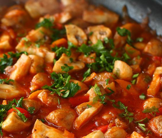 Tocanita-de-ciuperci traditionala