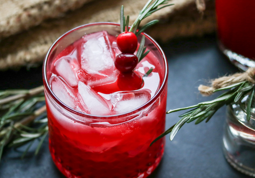 Cocktail Cranberry-vodka