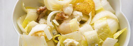 Salata de andive cu pere si nuci