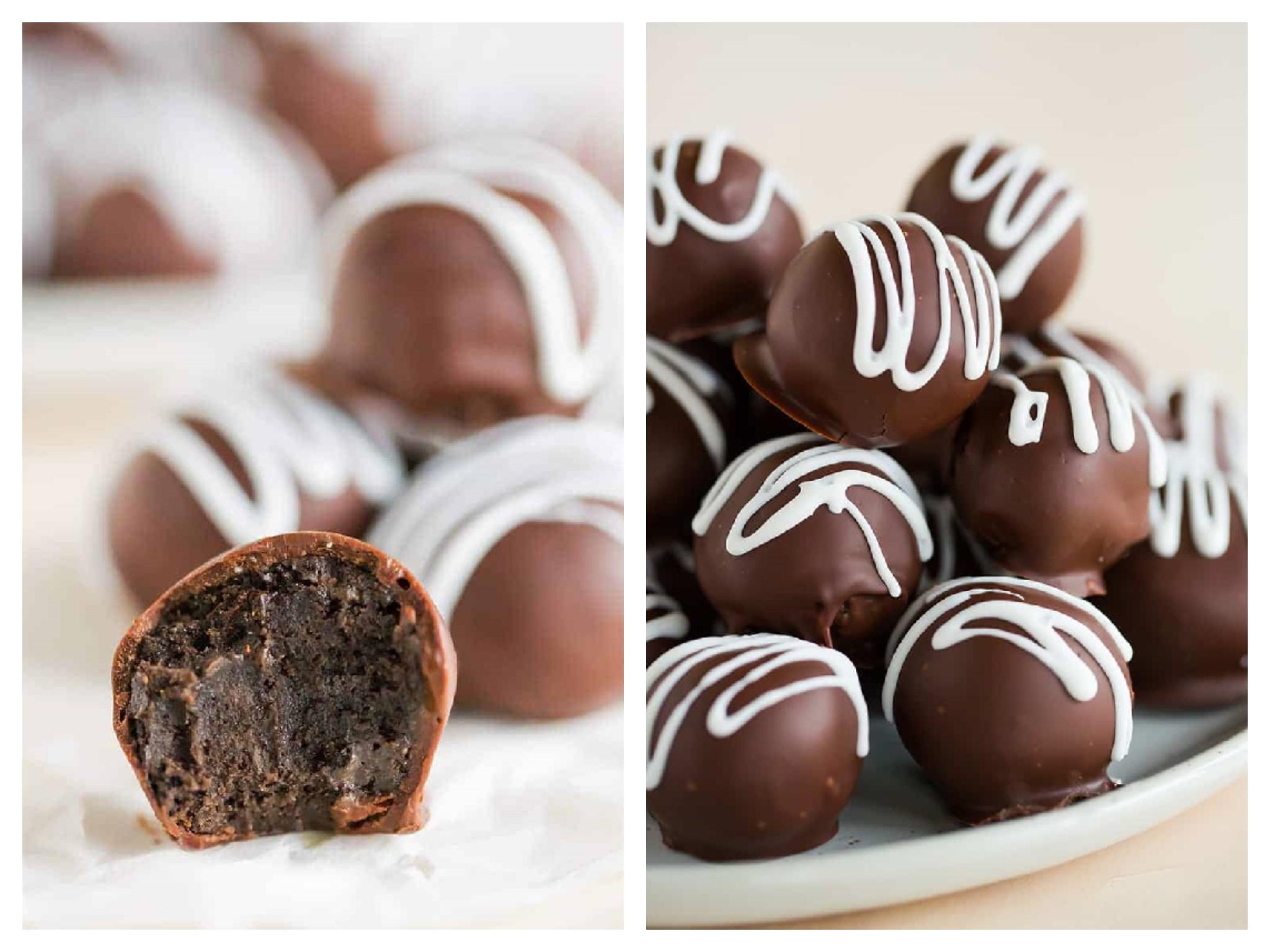 Trufe de ciocolata din oreo
