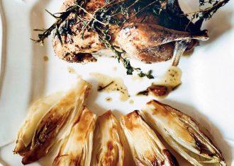 Andive caramelizare cu fazan