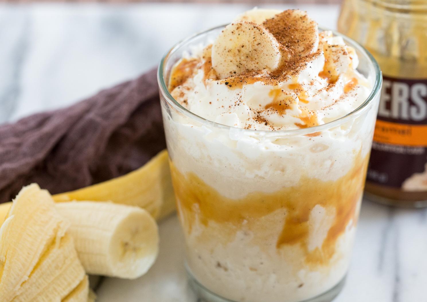 Milkshake cu banane si lapte