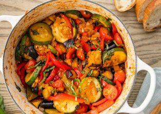 Tocanita cu legume, Ratatouille