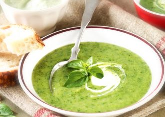 upa vitaminizanta cu broccoli si spanac