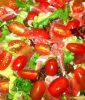 salata cu rosii si jambon