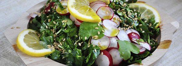 Salata cu untisor