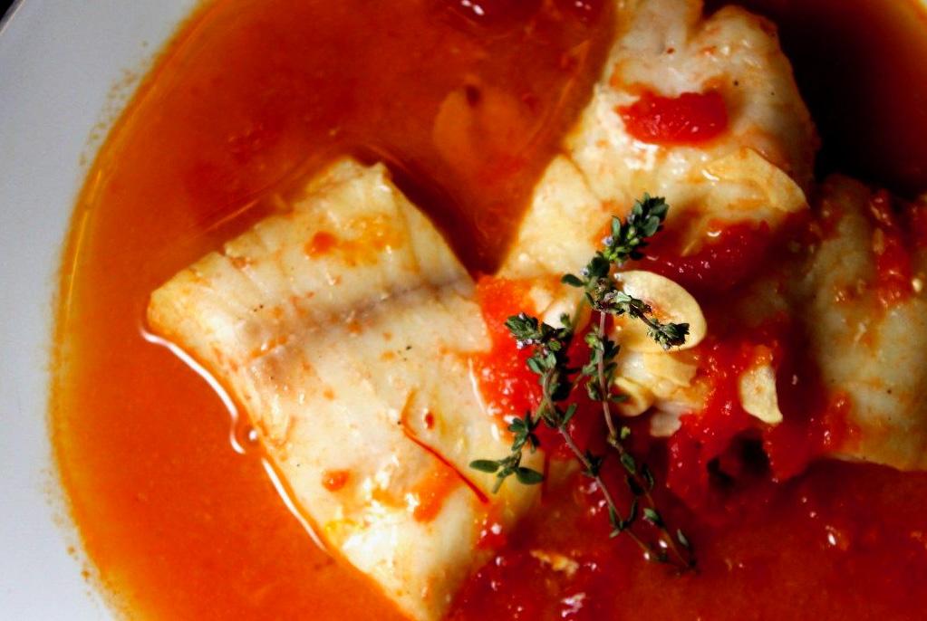 Supa spaniola cu peste
