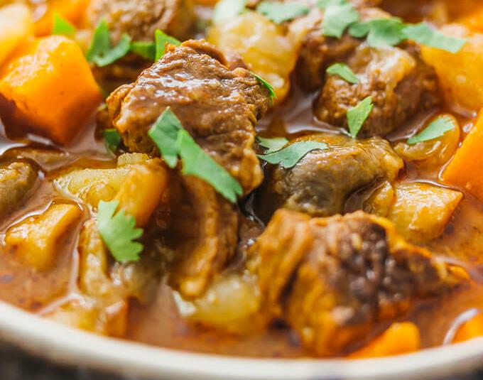 Mancare de cartofi cu carne de vita