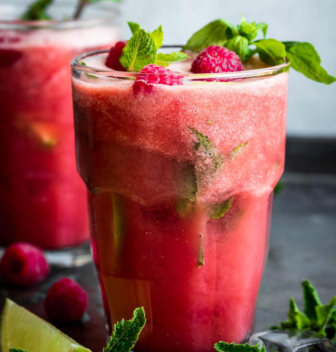Suc de pepene si capsuni