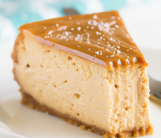 Cheesecake cu caramel prajitura de casa