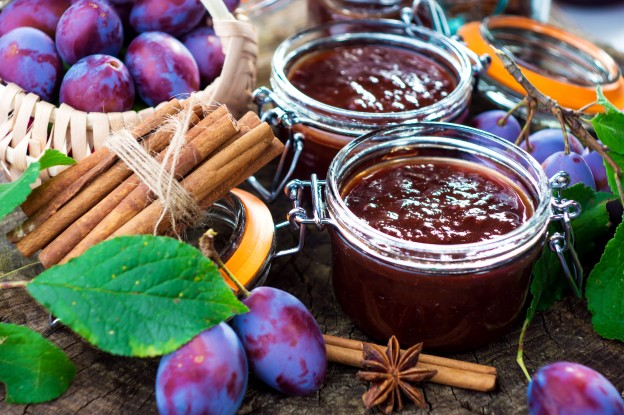 Gem de prune facut in casa