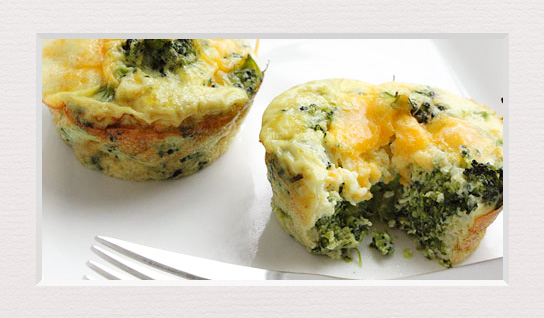 Broccoli cu oua si mozzarella la cuptor