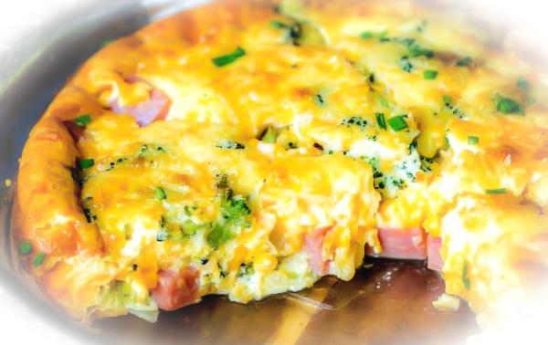 tarta cu branza de vaci sunca dovlecel si broccoli